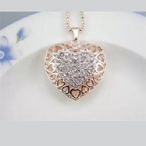 New Betesy Johnson heart necklace